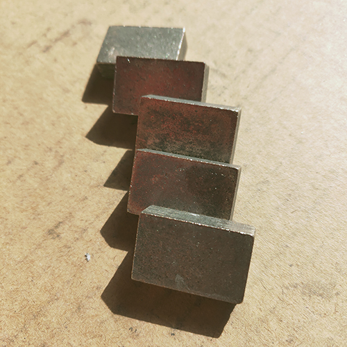 2000mm Sandstone blade Segments A