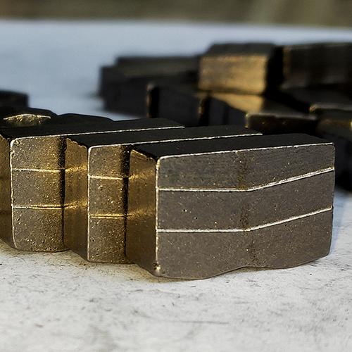 Normal 5.5mm Multi-blade Segments for Granite
