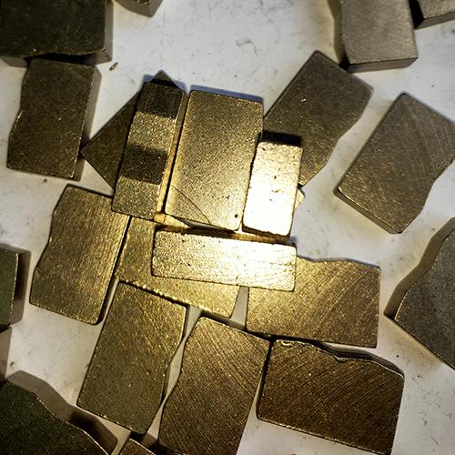 Sharp 6.5mm Multi-blade Segments for Granite