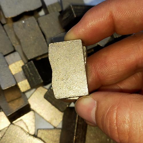 New Sharp Thick 6.5mm Multi-blade Segments for Granite