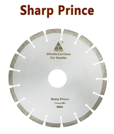φ250mm Granite Blades BR126 sharp prince