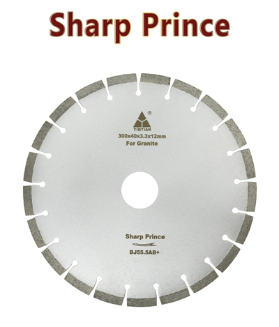 φ300mm BR106 granite saw blade Brazil Sharp prince