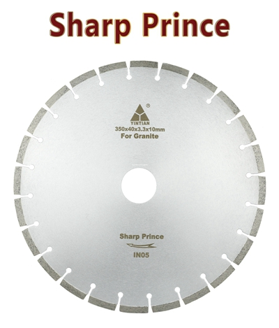 φ350mm BR106 granite saw blade Brazil Sharp prince