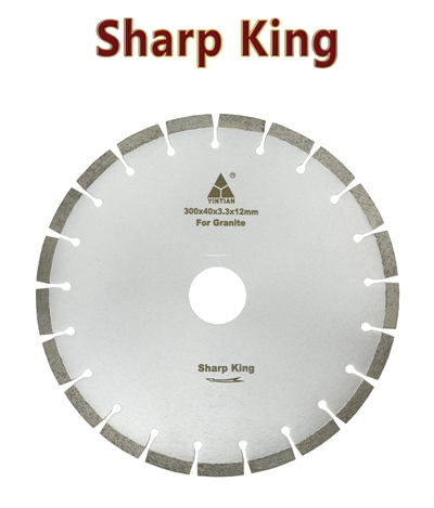 φ300mm S-AF Sharp King granite saw blade