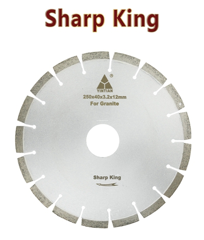 φ250mm Granite Blades S-AF Sharp King