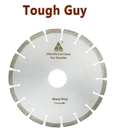 φ250 granite saw blade BJ65A Tough Guy