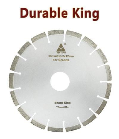 φ250mm Granite Blades IN04 no sandwich  India Durable King 12H