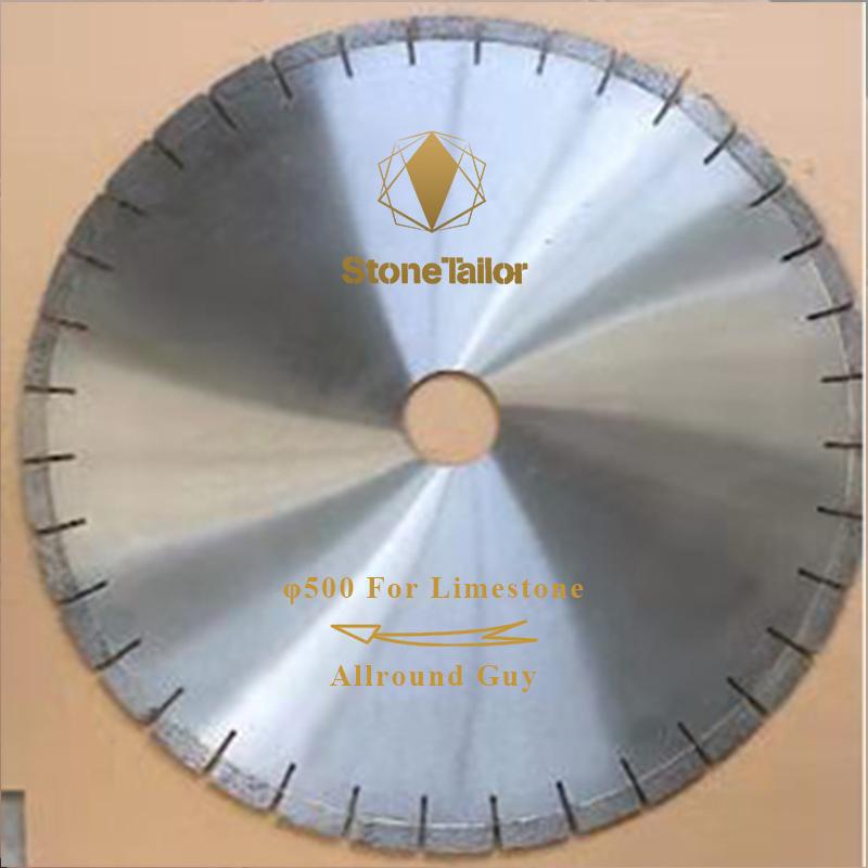φ500MM Limestone Saw Blade