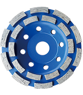 Double Raw Cup Wheel